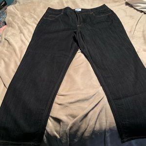 NWOT Dark blue jeans